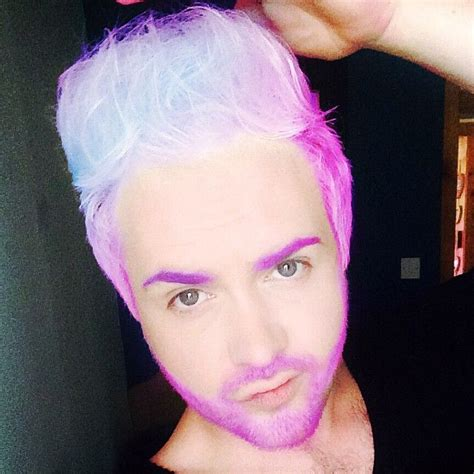 pictures of people who colored their hair with loreal feria b16 how do we feel about mermanhair merman hair blonde