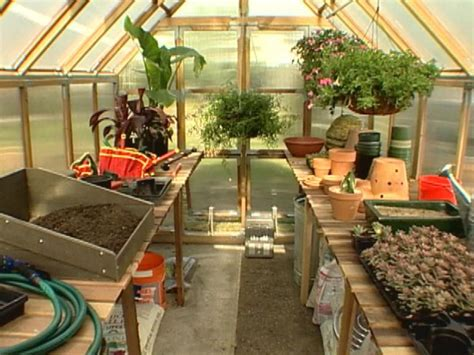 Potting Sheds Plans Tips For Organizing A Greenhouse Diy