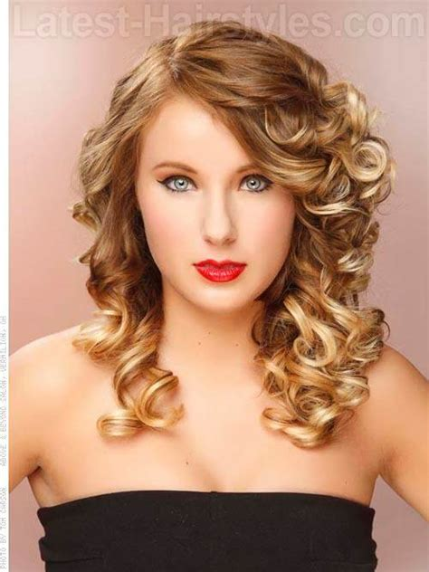 hairstyles for graduation curls curly hairstyles for prom