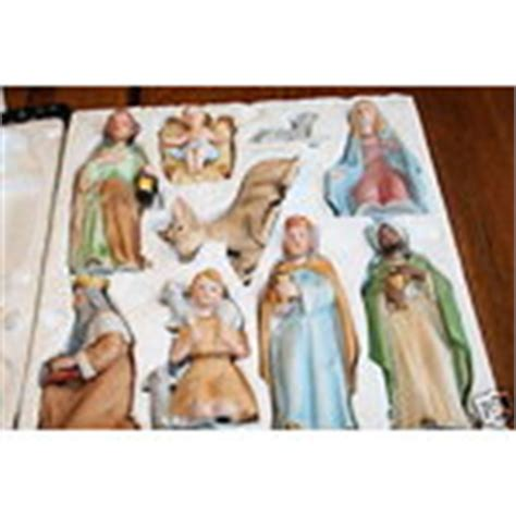 vintage homco home interiors 9 figure nativity set 5603