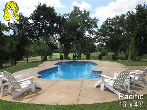 Backyard Pool Depth 30 Best Images About 8 Depth Fiberglass Pools On