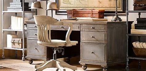 home office restoration hardware offices desks