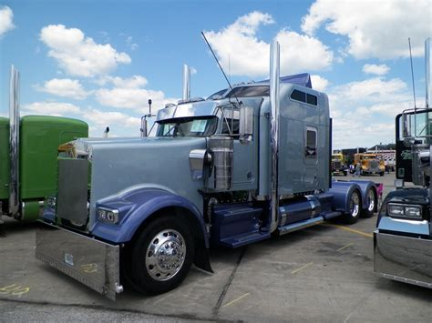 kenworth semi trucks semitrckn kenworth custom w900l nothing but rigs