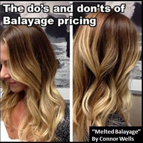 is ombre considered a partial foil the dos and dont s of balayage pricing hairbiztips hair