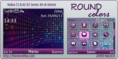themes nokia x2 01 android round colors theme for nokia c3 x2 01 themereflex