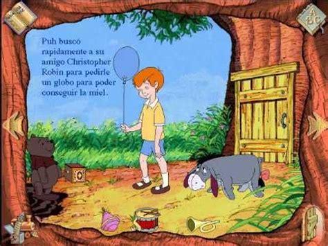 libro winnie the pooh a5 libro animado interactivo winnie pooh espa 241 ol parte 2 youtube