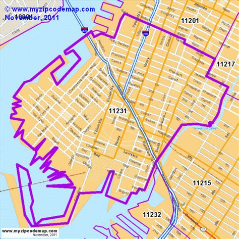 zip code map brooklyn brooklyn zip code map