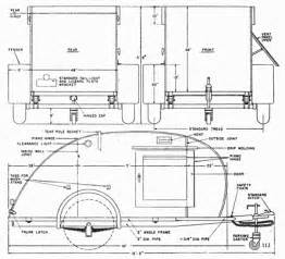 Teardrop Trailer Plans Free Gallery For Gt Teardrop Trailer Plans