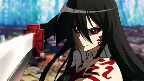 Anime F Kill by Akame Curse Murasame Anime Akame Ga Kill 1920x1080