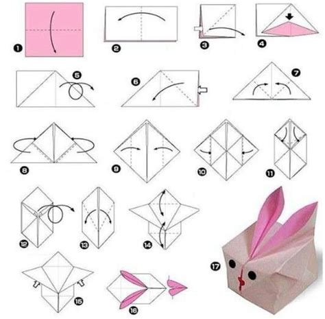 Rabbit Origami - 15 best images about origami on origami birds