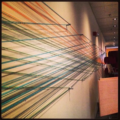 Nail And String Wall - 1000 images about string on trees crafts