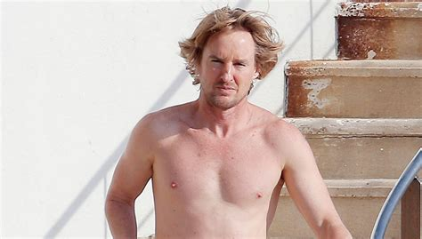 owen wilson now owen wilson goes shirtless bares fit body in france