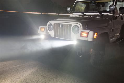 Fog L Jaring Jeep 3 In led fog light 3 quot square 13w 1 700 lumens auxiliary driving lights led fog lights and