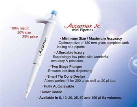 Micropipet Accumax Smart Fix Fixed Volume jual mikropipet endo pro distributor alat alat kesehatan