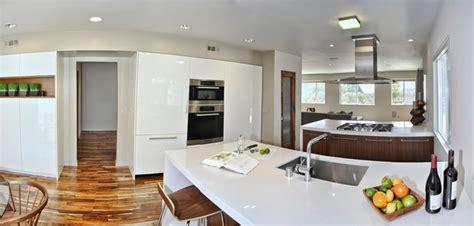 modern open kitchen concept mid century modern open concept kitchen dining room and