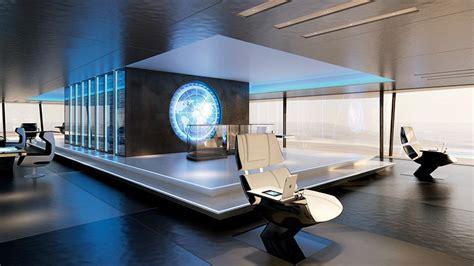 Salle De Sport Futuriste by Sinot Exclusive Yacht Design Symmetry Yacht Concept