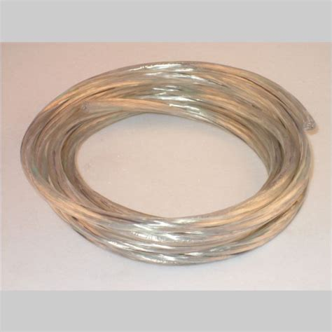 clear silver l cord 10 coil clear silver 18 3 svt pendant cord kirks lane