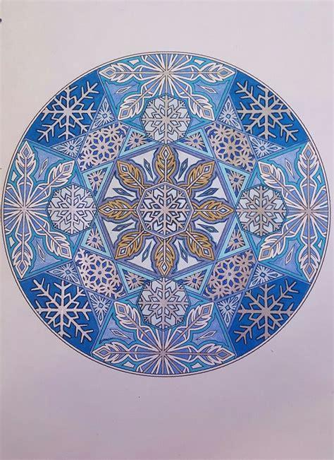 creative haven snowflake mandalas 0486803767 1000 images about mandala on sri yantra chakra and mandala print