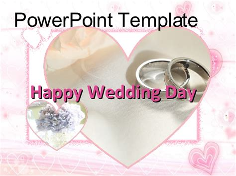 Powerpoint Template For Wedding Wedding Slideshow Template Powerpoint