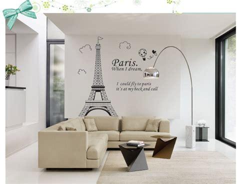 wall decor adhesive aliexpress buy eiffel tower bathroom home