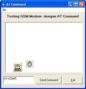 membuat vpn dengan modem gsm papan informasi testing modem gsm wavecom dengan visual