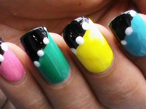 nail art tutorial easy no tools no tools easy nail art designs for beginners without