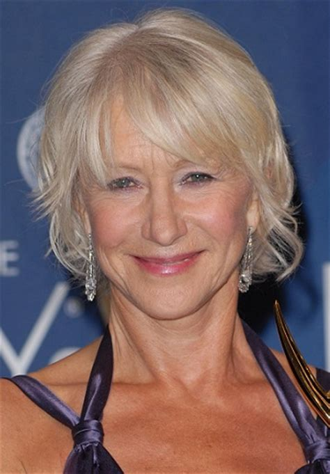 hairstyles helen mirren hairstyles helen mirren short curled hairstyle