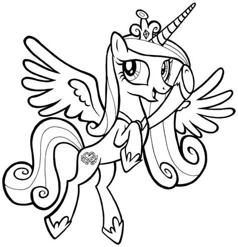 Coloring Page Pony by Printable Coloring Pages Pony Coloring Home