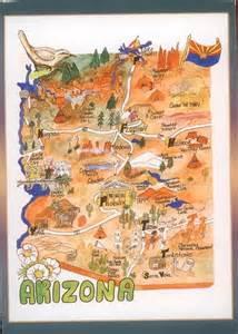 arizona map arizona