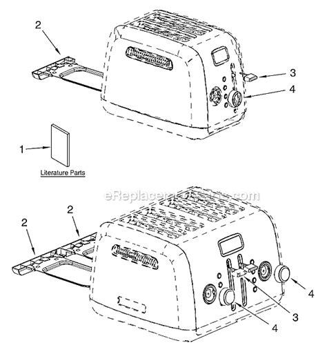 Parts Of A Toaster kitchenaid kitchenaid toaster parts