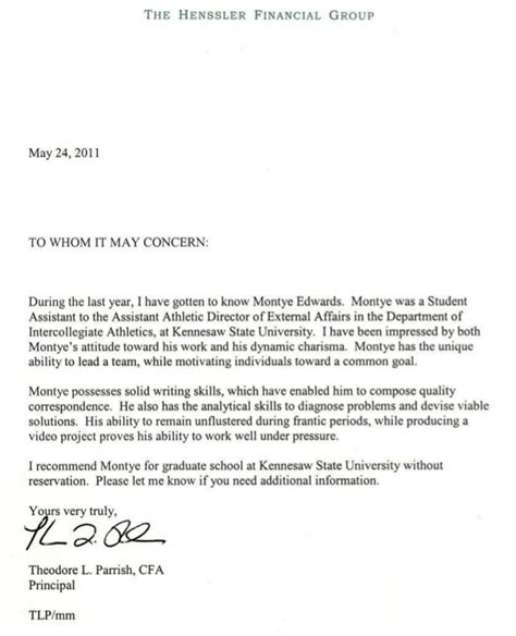 Step Promotion Nomination Letter Letter Of Recommendation