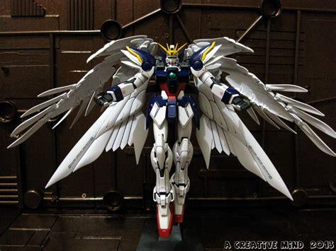 Mg Wing Gundam Zero Custom a creative mind mg xxxg 010 wing gundam zero custom ew
