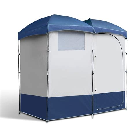 2 Room Shower Tent by Weisshorn Cing Shower Tent Changing Room Toilet Mibella