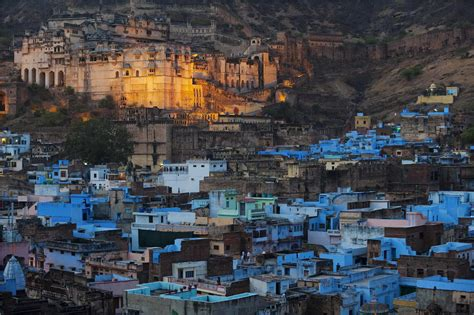 Canadian Houses blue bundi rajasthan india 2012 christie s boundless