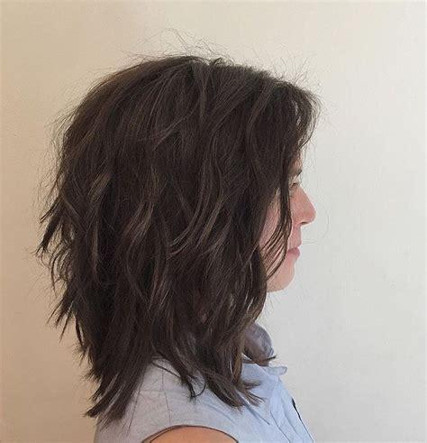 lob shag hairstyles shaggy lob by scott waldman at antonio prieto salon