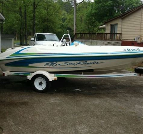 sea ray f16 jet boat for sale sea rayder f16 boats for sale