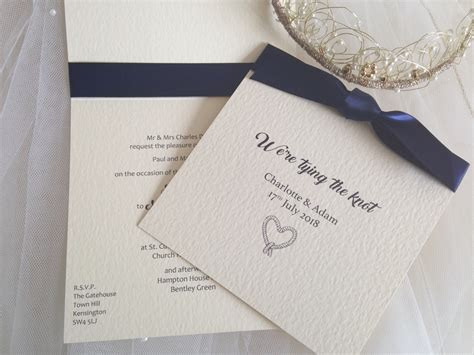 Wedding Invitations Knot by Tying The Knot Wedding Invitations Wedding Invites
