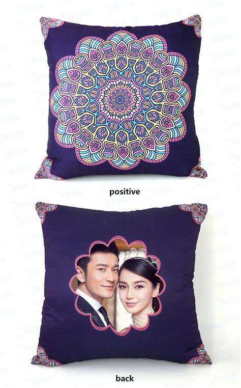 sublimation india hotel style digital printing pillow slip