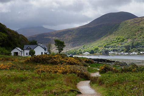cottage arran dell lochranza walkhighlands