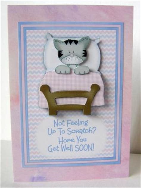 how to make get well soon cards not feeling up to scratch get well decoupaged card