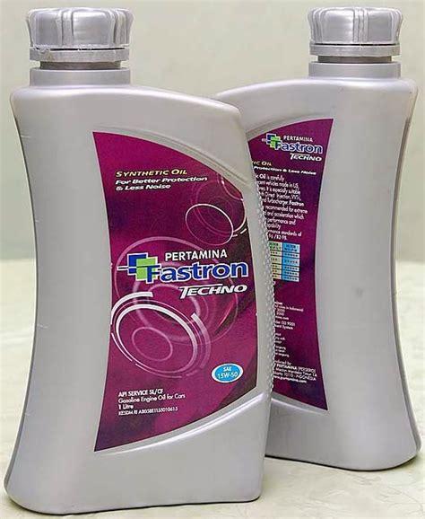 Oli Sgo Sae 5w 30 Api Sn Sintetik pertamina lubricants fastron techno sae 15w 50