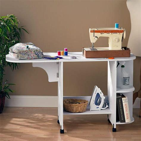 home decorators collection white sewing table oc9665t