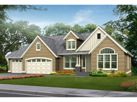 Craftsman House Plans One Story Ranch Craftsman House Plans Single Story House Design And Office Luxamcc