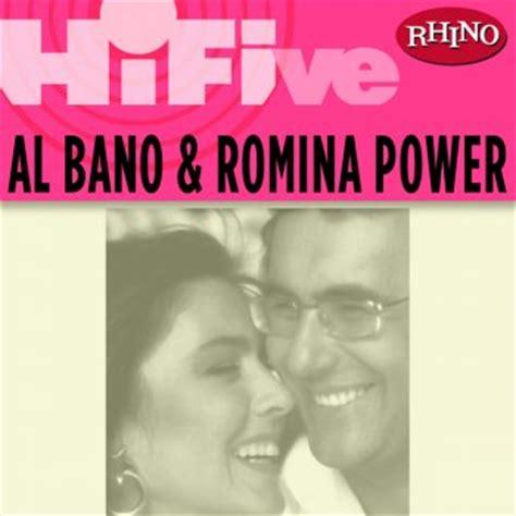 al bano romina power tutti i testi delle canzoni