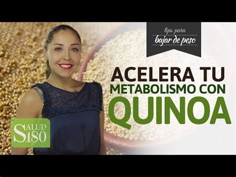 libro acelera tu metabolismo acelera tu metabolismo con quinoa youtube