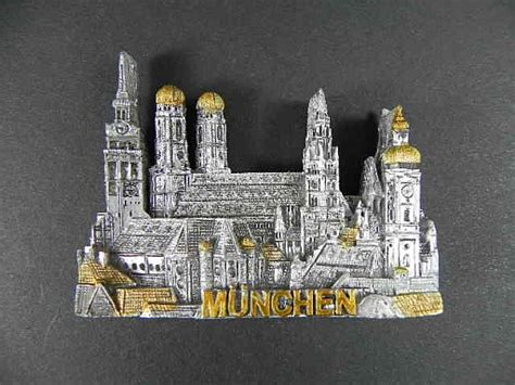 Souvenir Germany Magnet Kulkas Germany magnet munich munich marienplatz polyresin souvenir germany germany new ebay