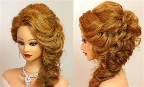 Hairstyle For Party For Rebonded Hair | hairstyle for a party weddinghairstyles