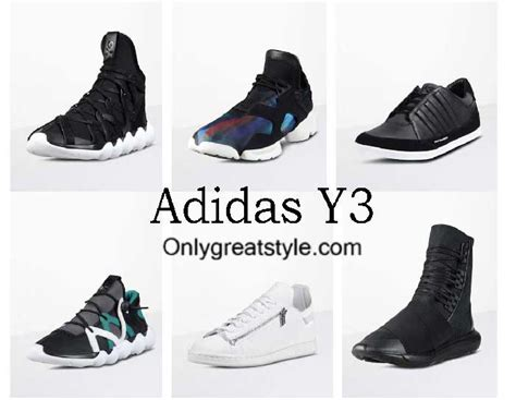 adidas y3 shoes fall winter 2016 2017 footwear for