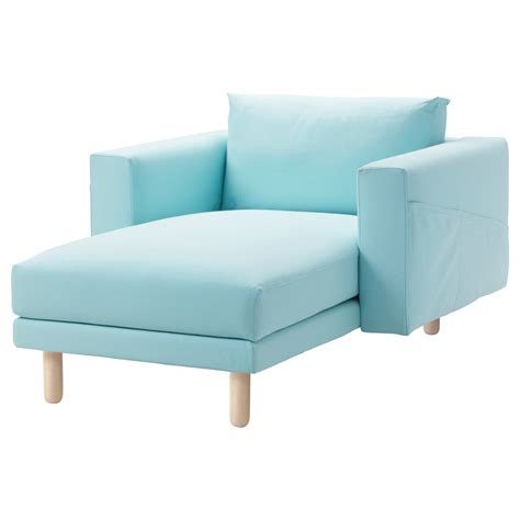 chaise cover norsborg cover for chaise longue gr 228 sbo light blue ikea