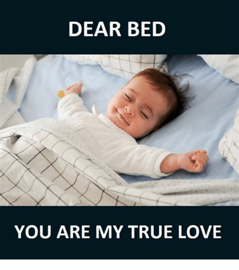 I Love My Bed Meme - 25 best memes about my true love my true love memes